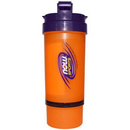 Now Foods, 3 in 1 Sports Shaker Bottle, 25 oz