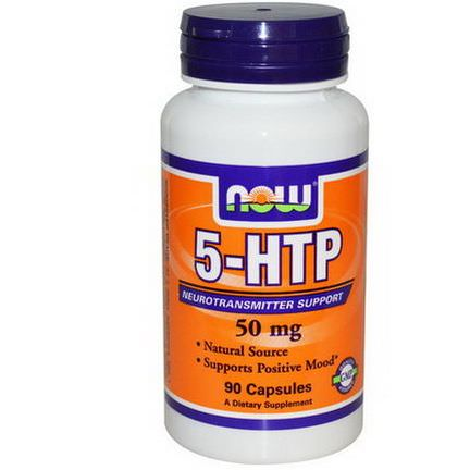 Now Foods, 5-HTP, 50mg, 90 Capsules
