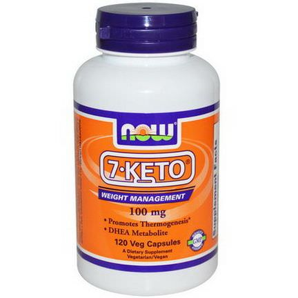 Now Foods, 7-Keto, 100mg, 120 Veggie Caps