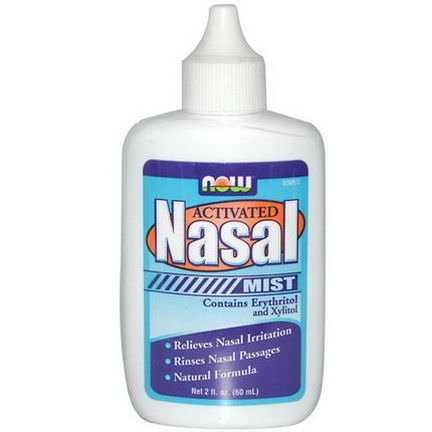 Now Foods, Activated Nasal Mist 60ml