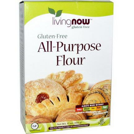 Now Foods, All-Purpose Flour, Gluten-Free 482g