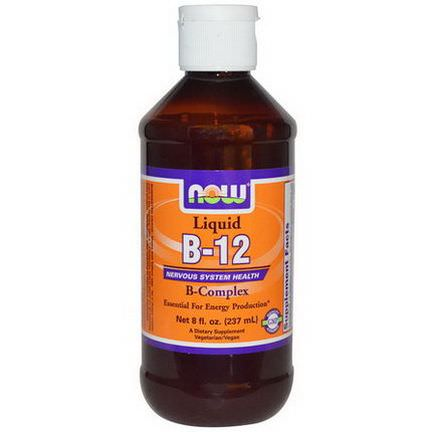 Now Foods, B-12, Liquid, B-Complex 237ml