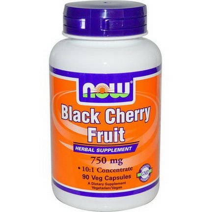 Now Foods, Black Cherry Fruit, 750mg, 90 Veggie Caps