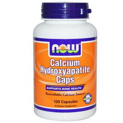 Now Foods, Calcium Hydroxyapatite Caps, 120 Capsules