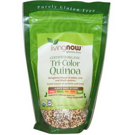 Now Foods, Certified Organic, Tri-Color Quinoa 397g