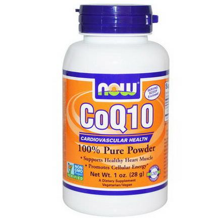 Now Foods, CoQ10, 100% Pure Powder 28g