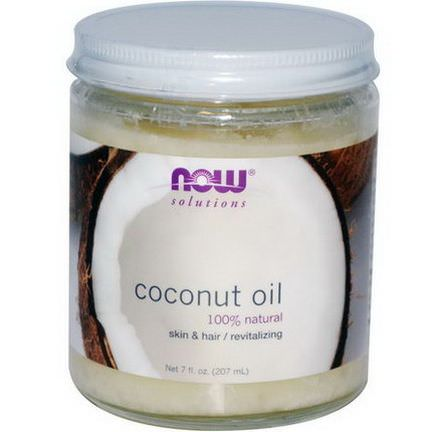 Now Foods, Coconut Oil, Natural 207ml