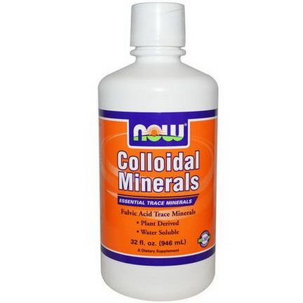 Now Foods, Colloidal Minerals 946ml