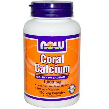 Now Foods, Coral Calcium, 1000mg, 100 Veggie Caps