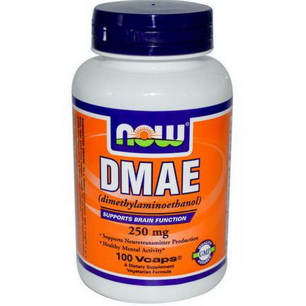 Now Foods, DMAE, 250mg, 100 Vcaps
