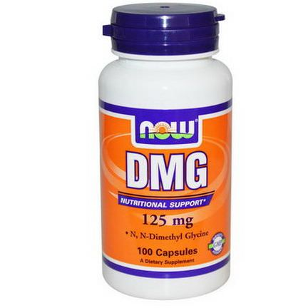 Now Foods, DMG, 125mg, 100 Capsules