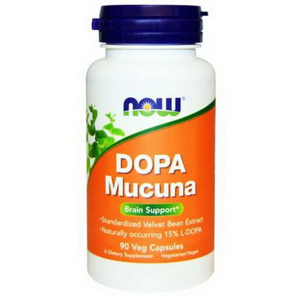 Now Foods, Dopa Mucuna, 90 Veggie Caps