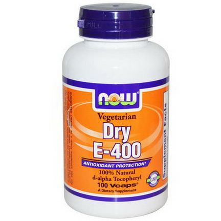 Now Foods, Dry E-400, 100 Vcaps