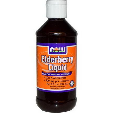 Now Foods, Elderberry Liquid 237ml