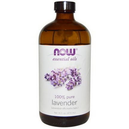 Now Foods, Essential Oils, 100% Pure Lavender 473ml