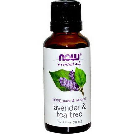 Now Foods, Essential Oils, Lavender&Tea Tree 30ml