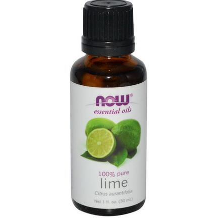 Now Foods, Essential Oils, Lime 30ml