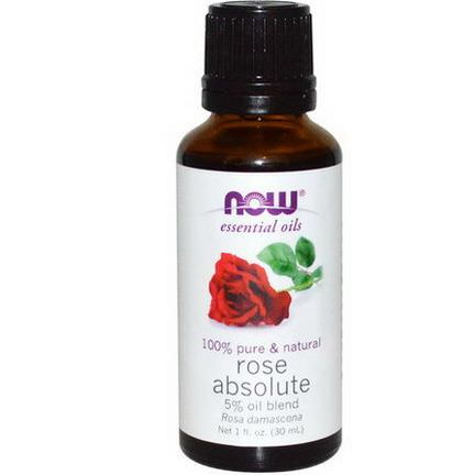 Now Foods, Essential Oils, Rose Absolute 30ml