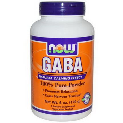 Now Foods, GABA, Powder 170g