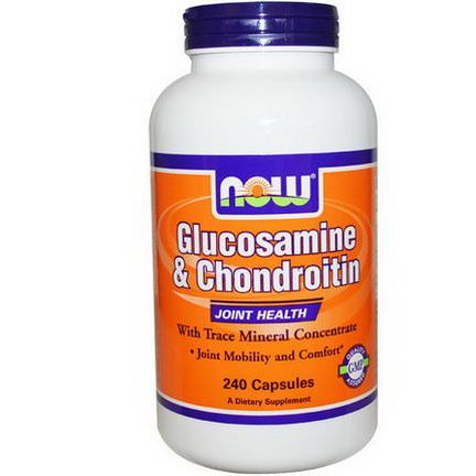 Now Foods, Glucosamine&Chondroitin, 240 Capsules