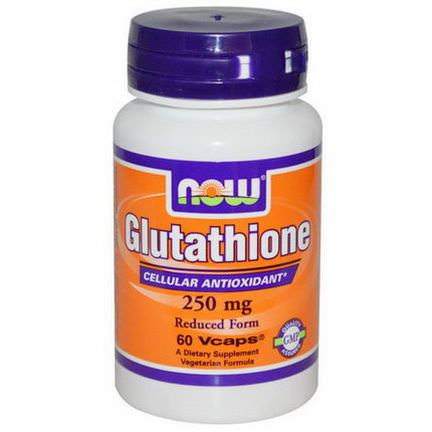Now Foods, Glutathione, 250mg, 60 Veggie Caps