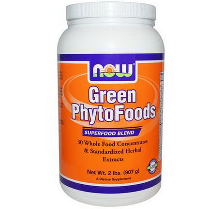 Now Foods, Green PhytoFoods 907g