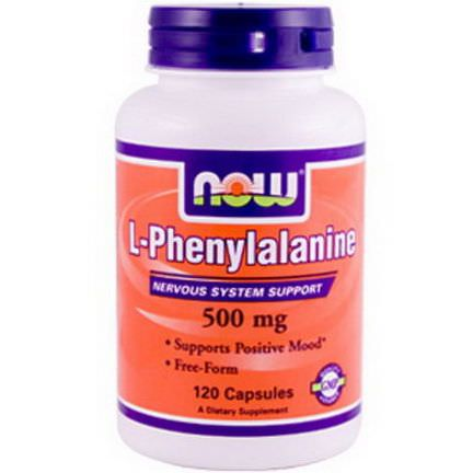 Now Foods, L-Phenylalanine, 500mg, 120 Capsules