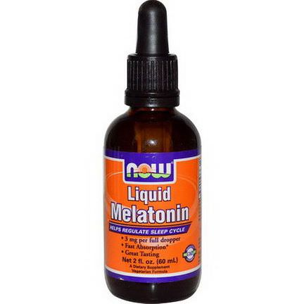 Now Foods, Liquid Melatonin 60ml