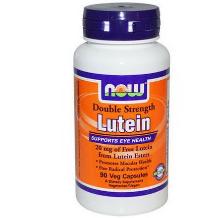Now Foods, Lutein, Double Strength, 90 Veggie Caps