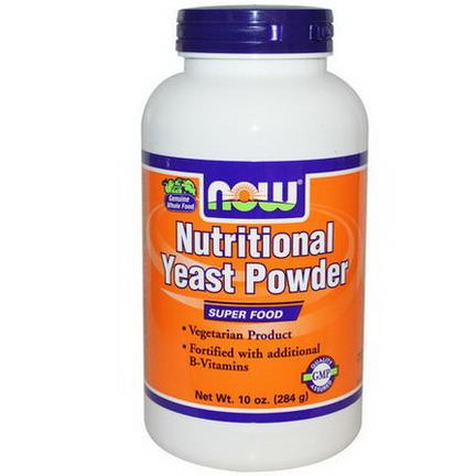Now Foods, Nutritional Yeast Powder 284g