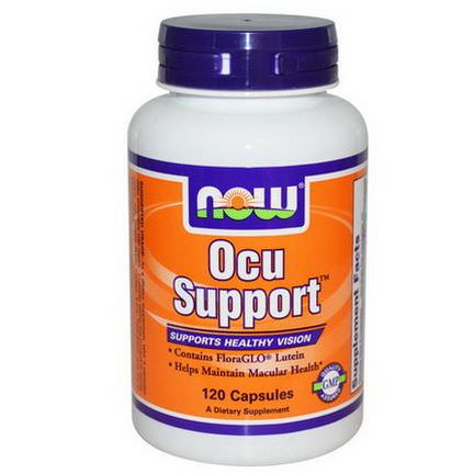 Now Foods, Ocu Support, 120 Capsules