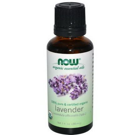 Now Foods, Organic Essential Oils, Lavender 30ml