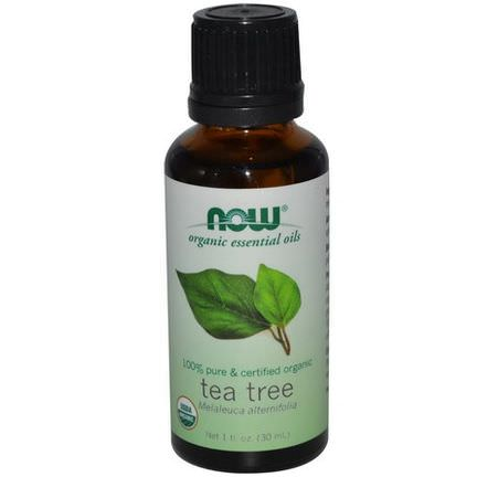 Now Foods, Organic Essential Oils, Tea Tree 30ml