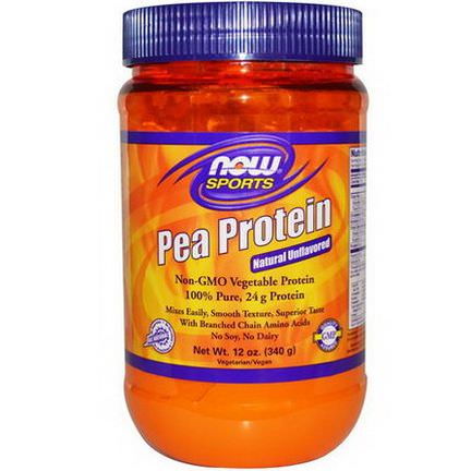 Now Foods, Pea Protein, Natural Unflavored 340g