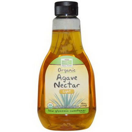 Now Foods, Real Food, Agave Nectar, Light 660g