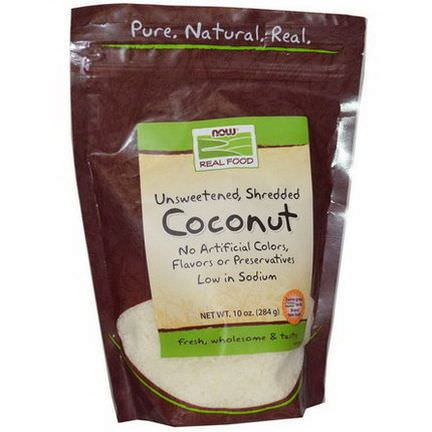 Now Foods, Real Food, Coconut 284g