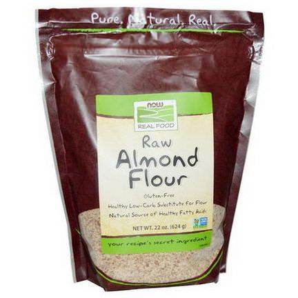 Now Foods, Real Food, Raw Almond Flour 624g