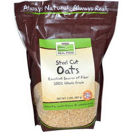 Now Foods, Real Food, Steel Cut Oats 907g