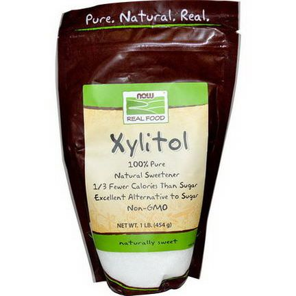 Now Foods, Real Food, Xylitol 454g
