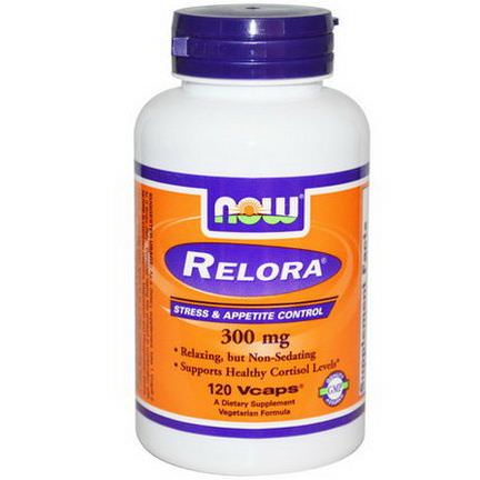 Now Foods, Relora, 300mg, 120 Vcaps