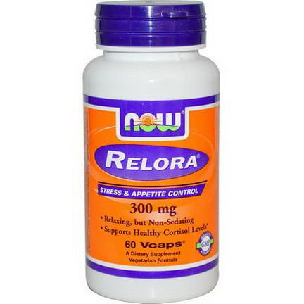 Now Foods, Relora, 300mg, 60 Vcaps