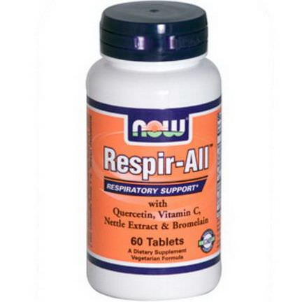 Now Foods, Respir-All, 60 Tablets