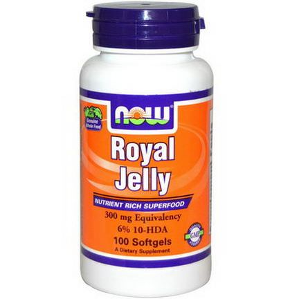 Now Foods, Royal Jelly, 100 Softgels