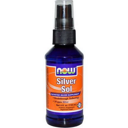 Now Foods, Silver Sol 118ml
