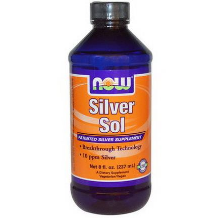 Now Foods, Silver Sol 237ml