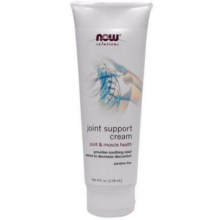 Now Foods, Solution, Joint Support Cream 118ml