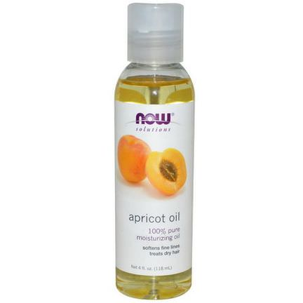 Now Foods, Solutions, Apricot Oil 118ml