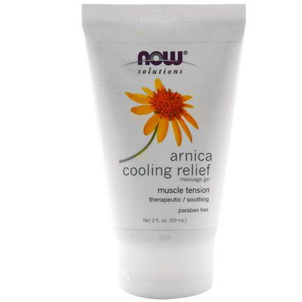 Now Foods, Solutions, Arnica Cooling Relief Massage Gel 59ml