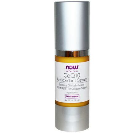 Now Foods, Solutions, CoQ10 Antioxidant Serum 30ml