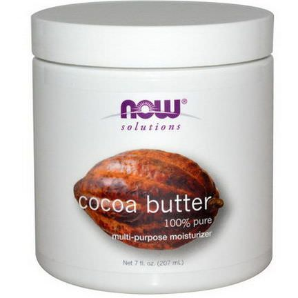 Now Foods, Solutions, Cocoa Butter 207ml